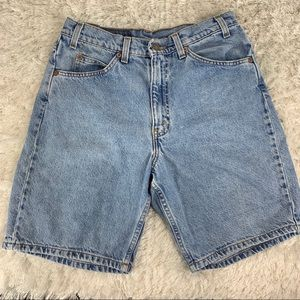 Levi's 550 Dad Jean Shorts Light Wash Sz 32